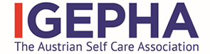 Igepha - The Austrian Self Care Association - Logo